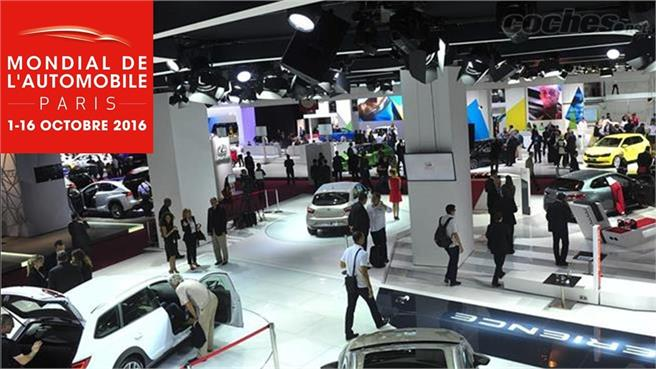 Salón del Automóvil de París 2016: Estamos allí