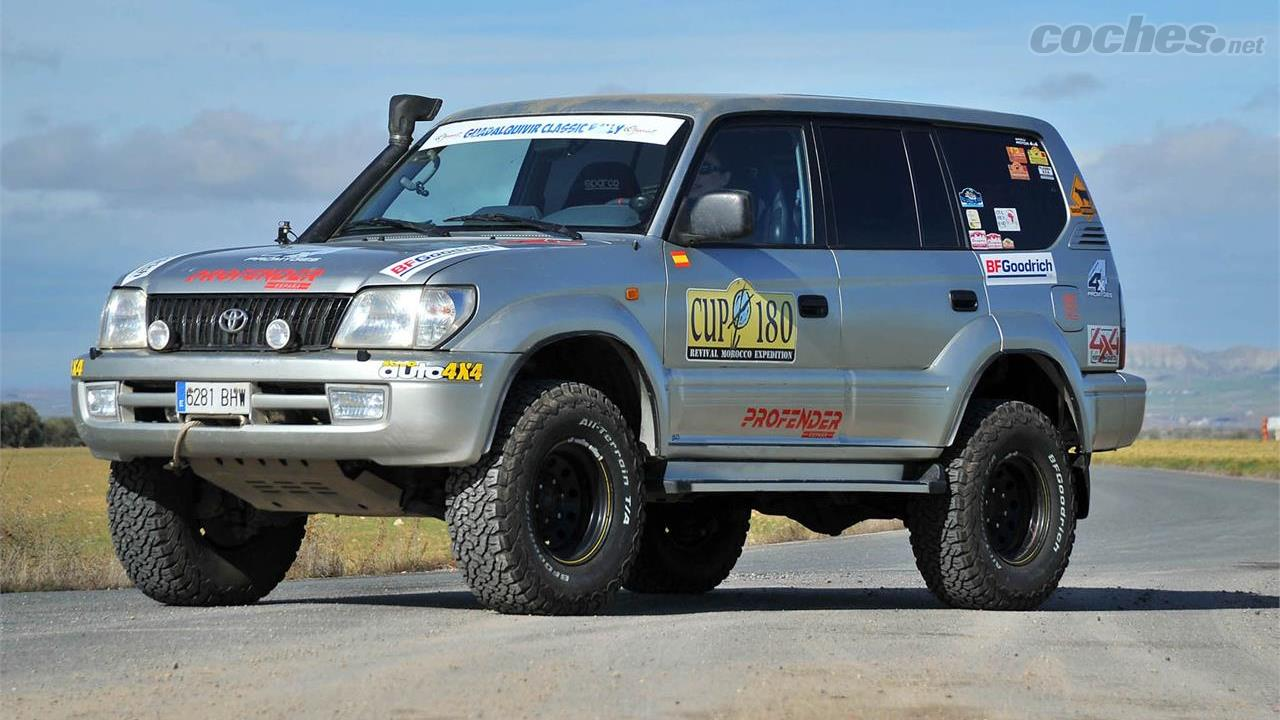 Preparación Toyota Land Cruiser KDJ 95 Expedition ...