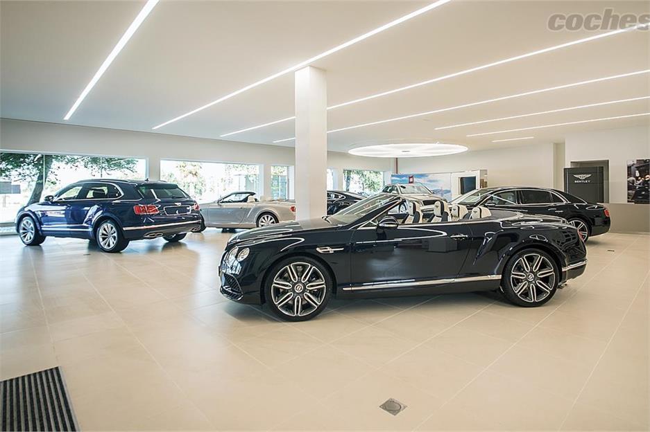 Nuevo concesionario Bentley en Barcelona