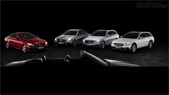 Mercedes-Benz Clase E Cabrio: primera silueta