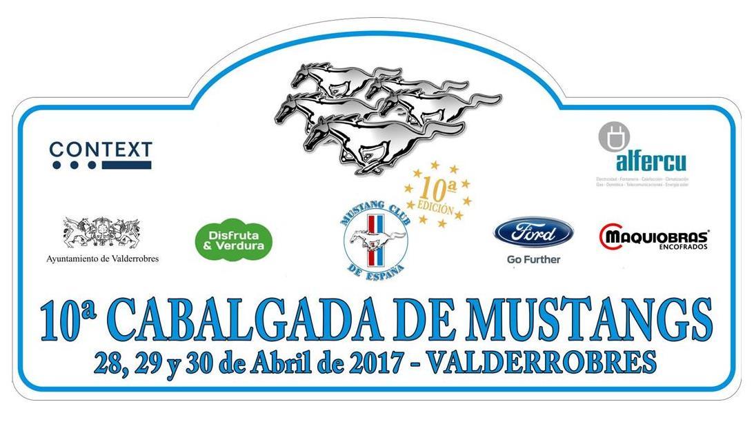 Cabalgada Ford Mustang 2017, en vídeo
