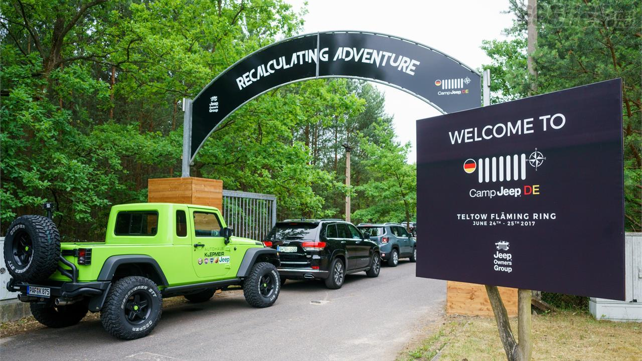 Camp Jeep 2017 Gran Fiesta Anual Del 4x4 Noticias Coches Net
