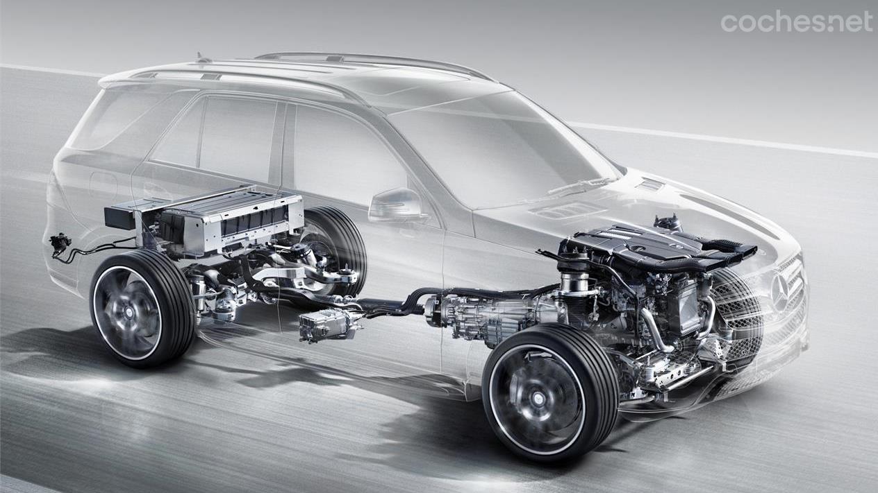 Híbridos enchufables de Mercedes-Benz