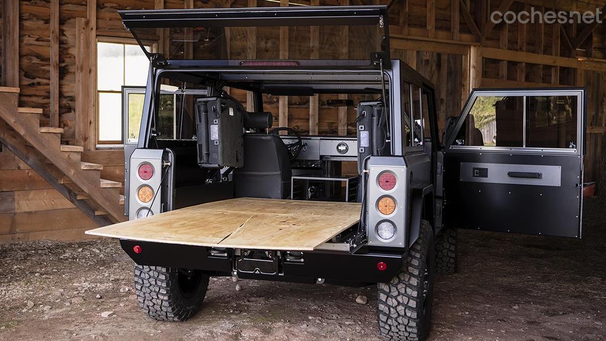Bollinger B1: 4x4 auténtico, y eléctrico