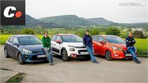"""Kia Rio, Nissan Micra y Citroën C3: Los """"otros"""" utilitarios"""