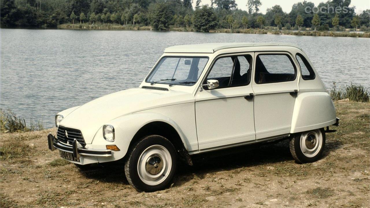 Citroën Dyane: 50 aniversario