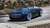 Vision Mercedes-Maybach 6 Cabriolet: Simplemente increíble