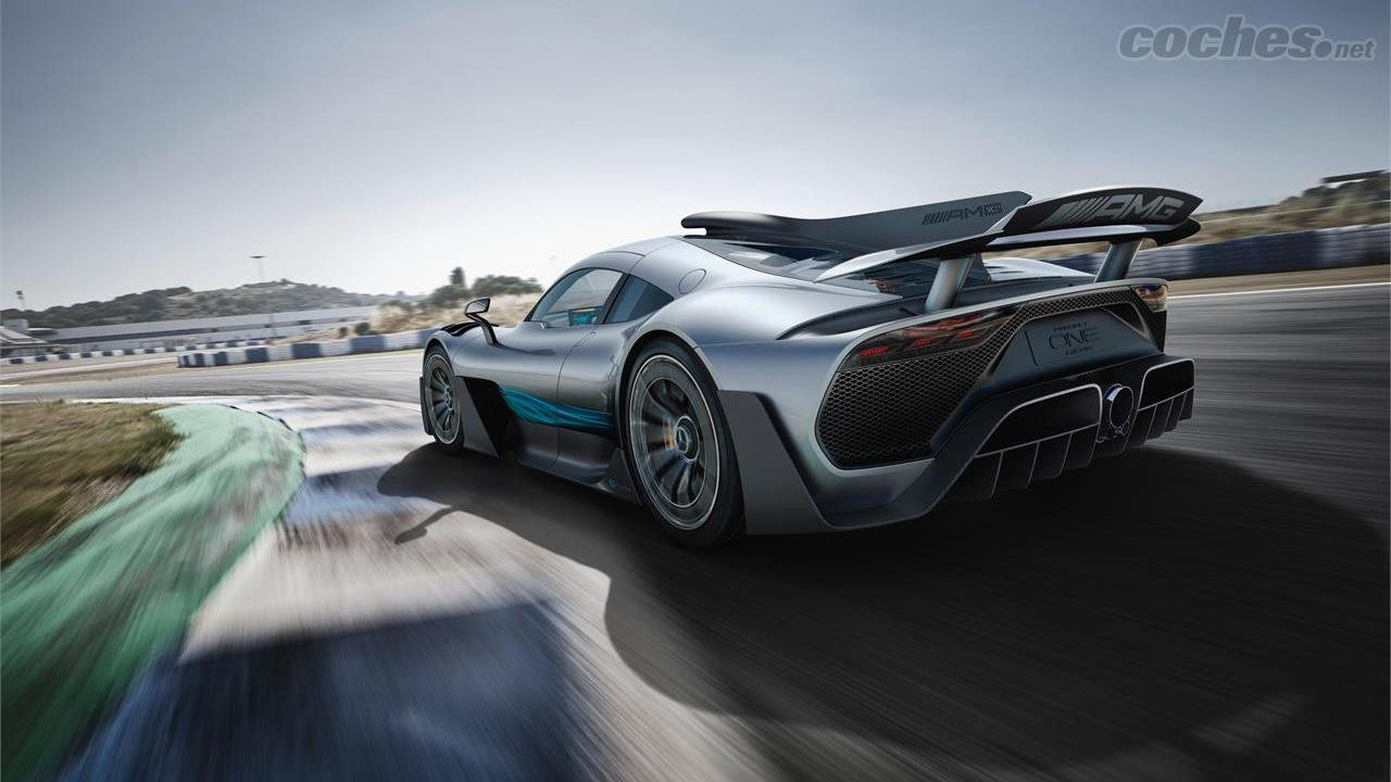 Mercedes-AMG Project One: F1 de calle