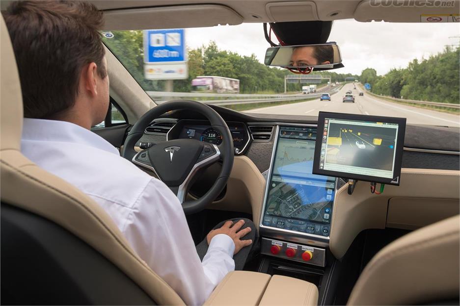 Estudio Bosch asistentes a la conducción