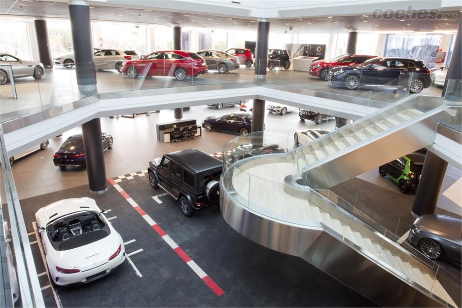 Mercedes abre concesionario en Madrid