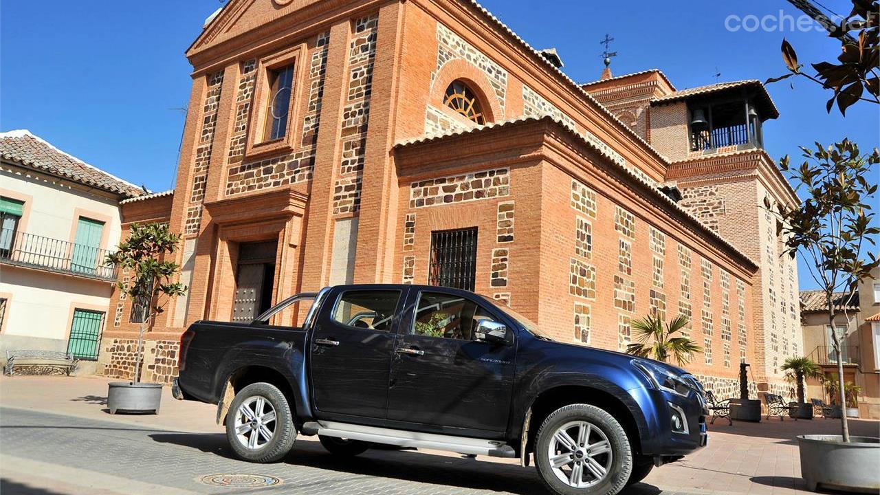Off Road en Isuzu D-Max: Ciudad Real