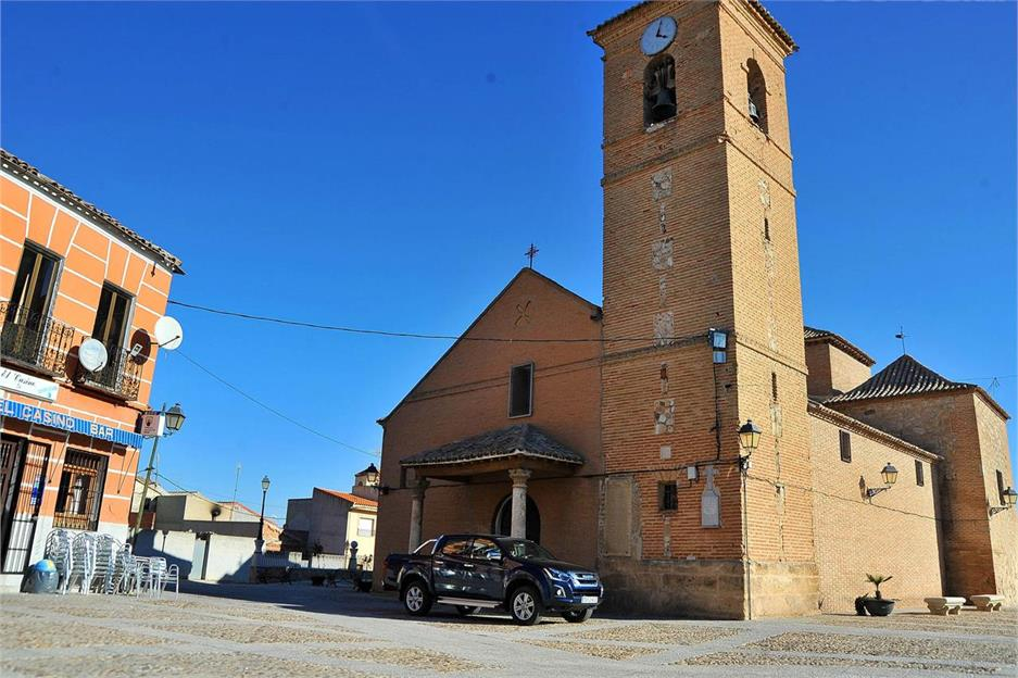 España off-road en Isuzu D-Max: Toledo