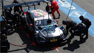 Mercedes quiere dejar el DTM con una sonrisa... y con la victoria