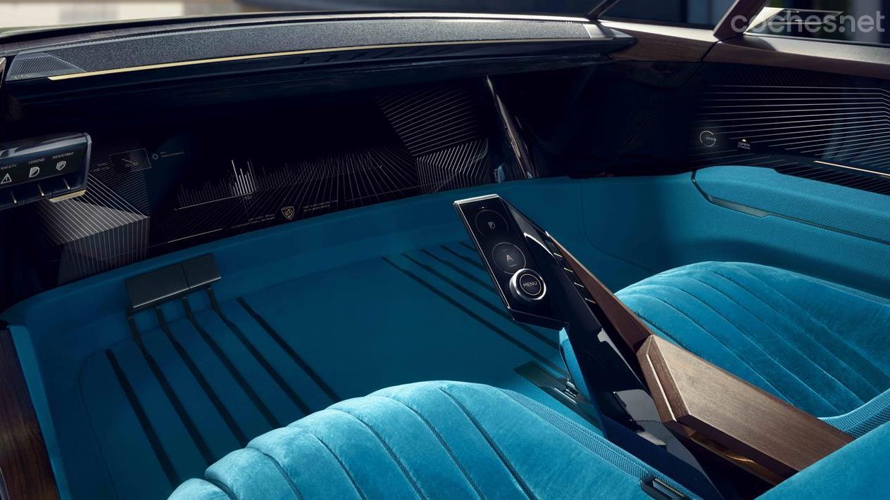 Peugeot E Legend Concept Hipertecnologico Noticias Coches Net