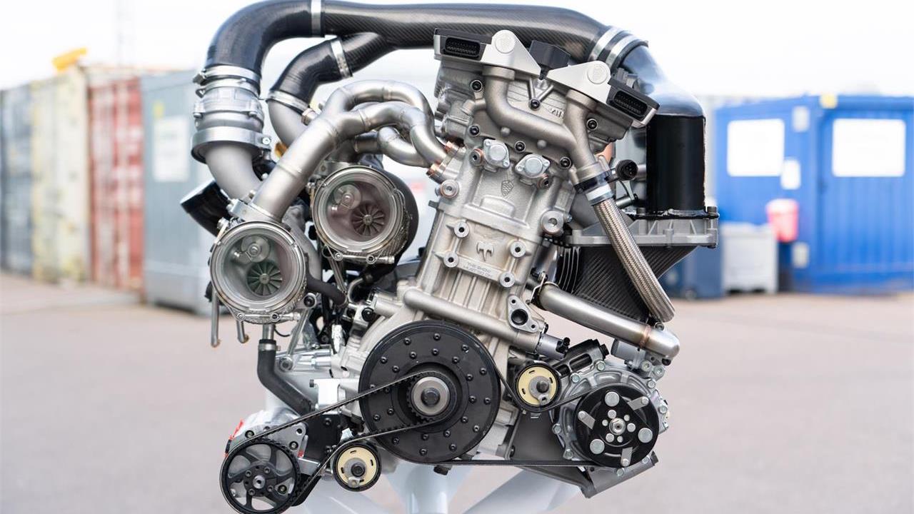 Motor de válvulas libres de Koenigsegg