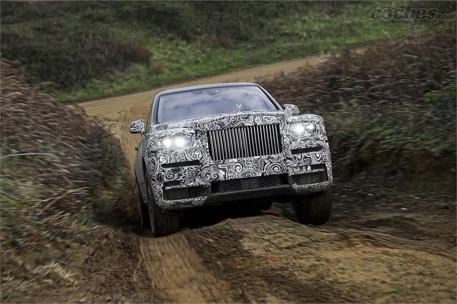 Rolls-Royce Cullinan, diamante en bruto