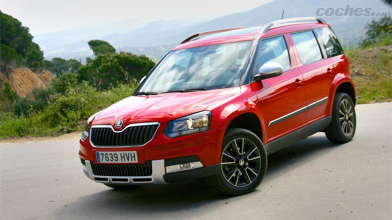 pruebas skoda yeti 2014 noticias. Black Bedroom Furniture Sets. Home Design Ideas