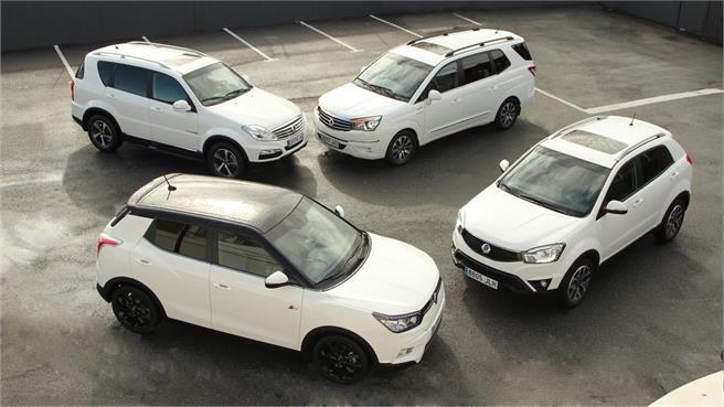Gama SsangYong 4x4 y Tivoli AWD
