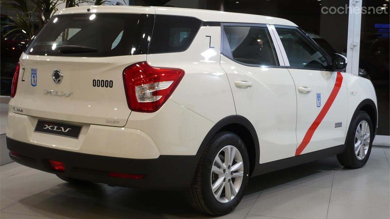 SsangYong XLV: Taxi de GLP