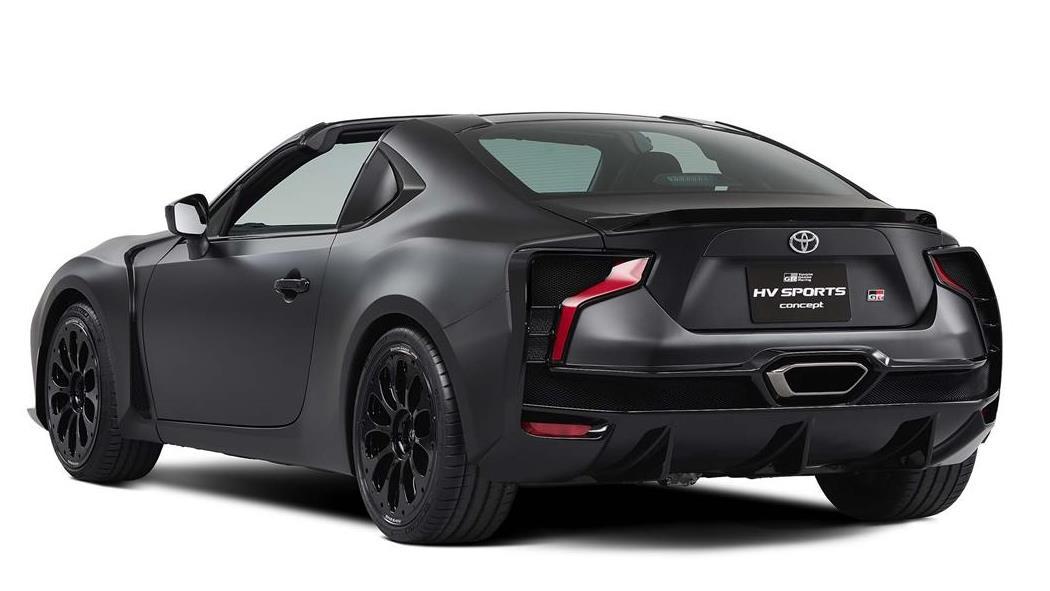 Toyota GR HV Sports Concept, GT86 cabrio
