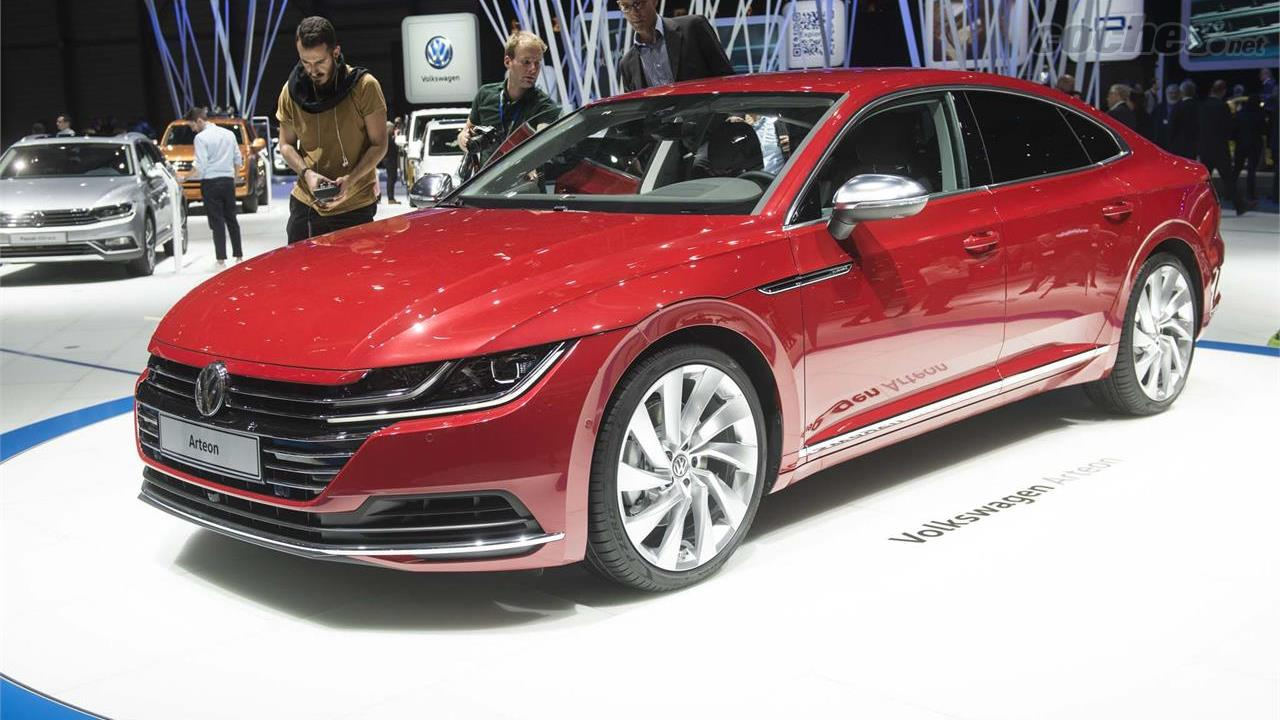 volkswagen arteon un 39 5 puertas 39 basado en el passat noticias. Black Bedroom Furniture Sets. Home Design Ideas