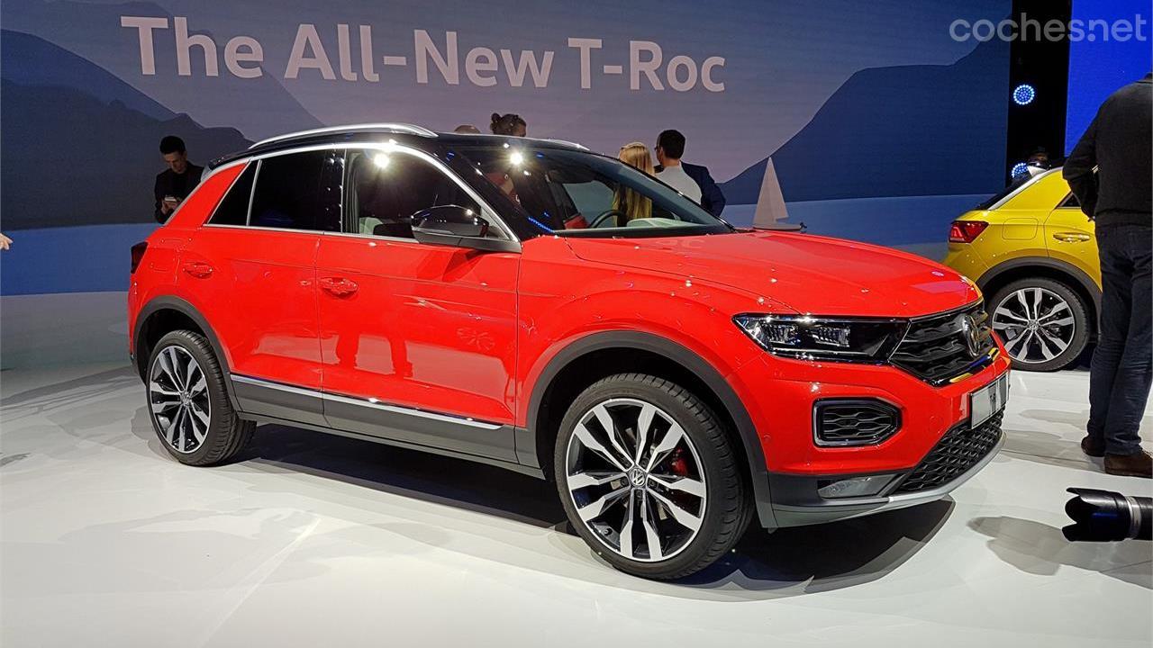 Volkswagen T-Roc SUV: Presentación