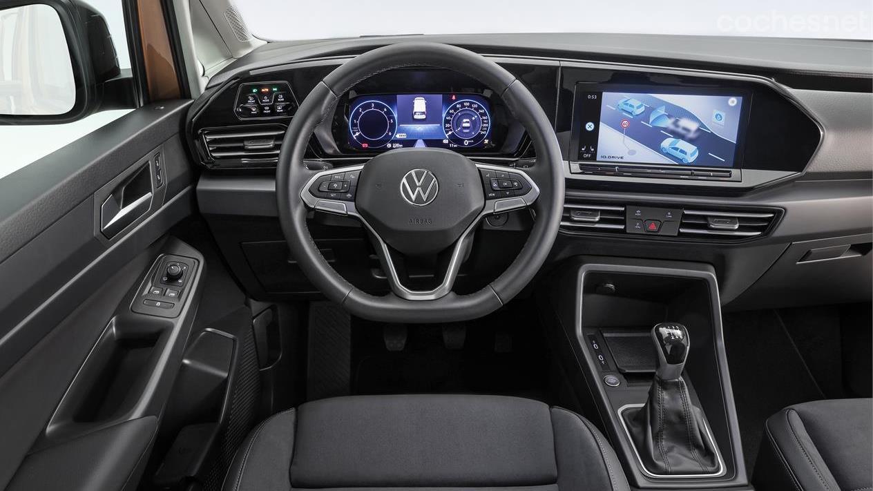 2020 VW Caddy Interior