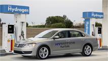 Volkswagen Golf y Passat HyMotion