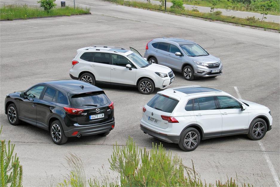 Comparativo SUV: Tiguan contra todos