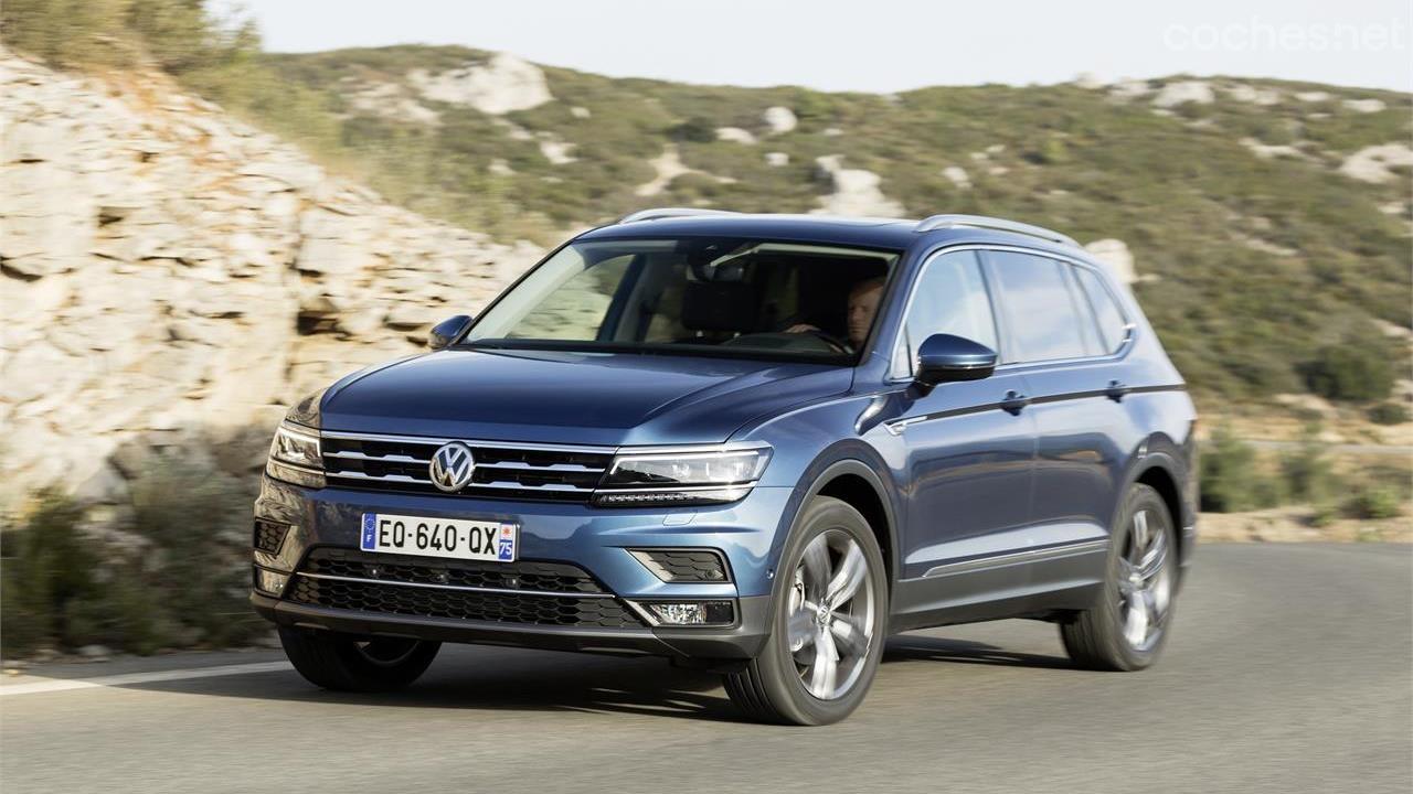 Volkswagen Tiguan Allspace: Más familiar