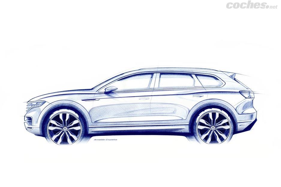 Volkswagen Touareg: Estreno en Pekín