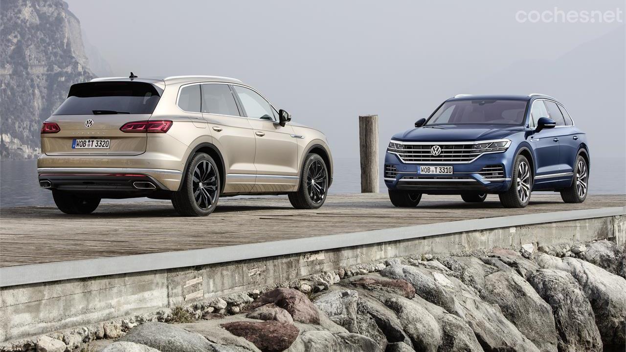 Volkswagen Touareg: Más SUV, menos TT