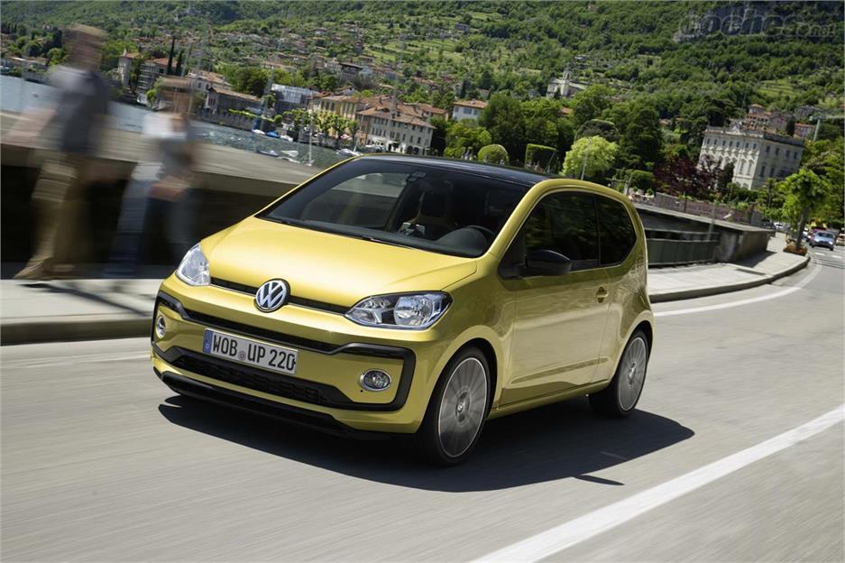 Volkswagen up! las 7 diferencias