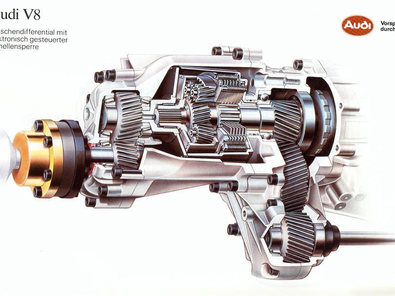 Fotos La Tracci 243 N Quattro De Audi Cumple 30 A 241 Os Tipos De