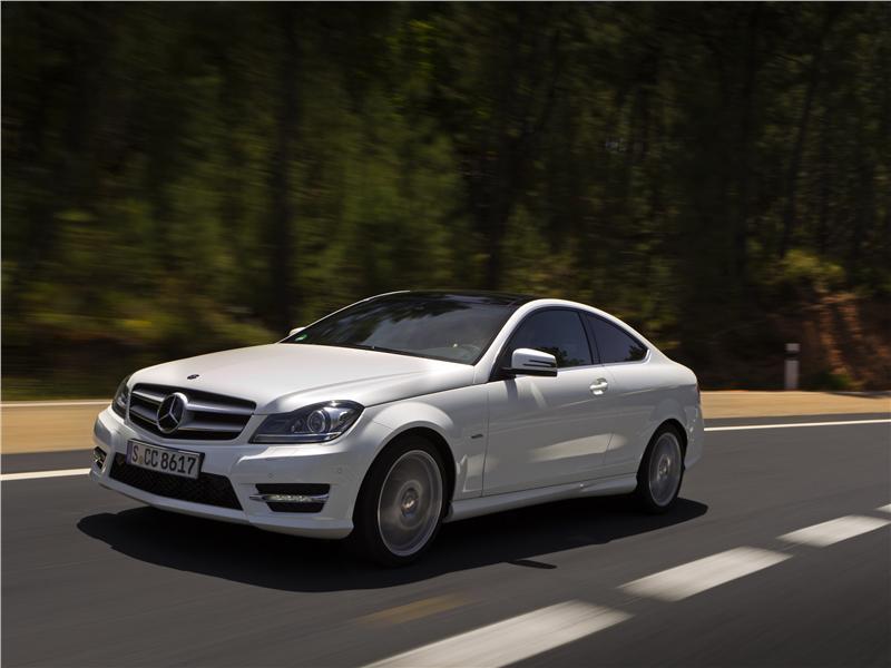 Fotos mercedes benz clase c coup mercedes benz clase c for Mercedes benz clase c