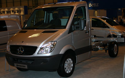 MERCEDES-BENZ Sprinter 413 CDI MEDIO 4.6T - Diesel del 2010