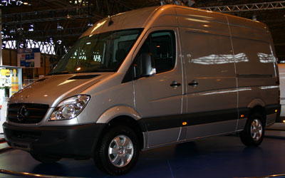 MERCEDES-BENZ Sprinter 413 CDI LARGO L - Diesel del 2010