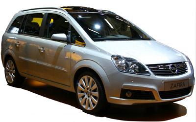 Ficha Tecnica Opel Zafira Monovolumen Enjoy 16 16v 105cv Gasolina